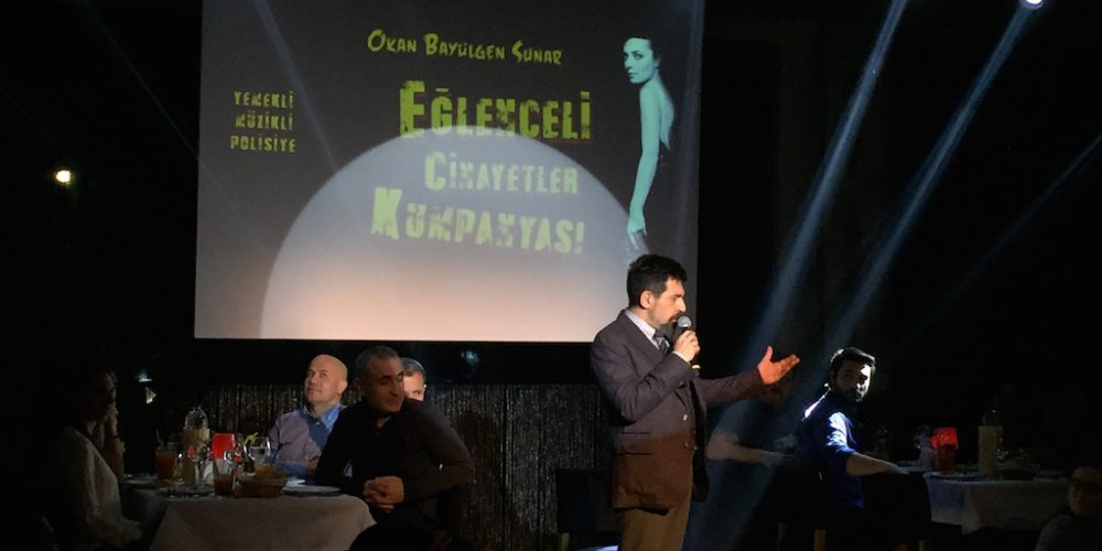 Eğlenceli Cinayetler Kumpanyası Sahne İstanbul
